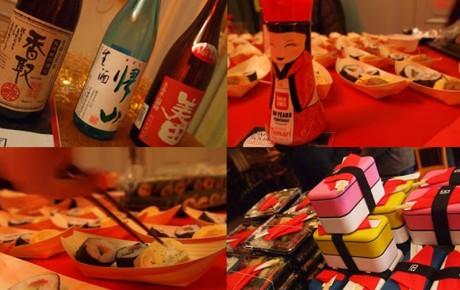 Goden combo van sake en sushi