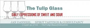 Logo Tulip Glass Banner
