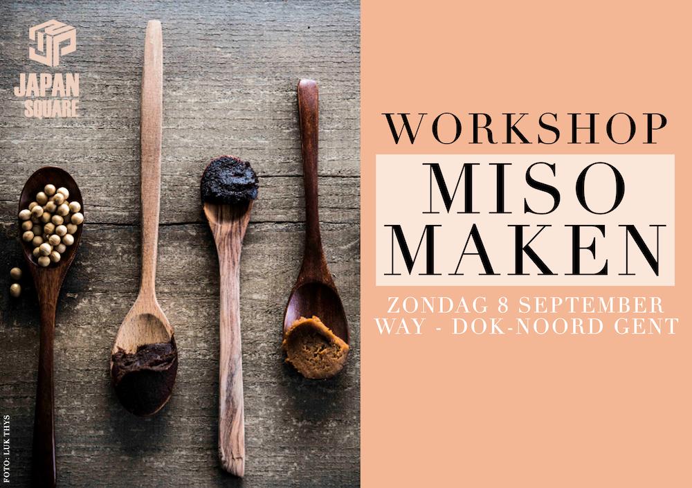 Workshop miso maken – 8 september 2019