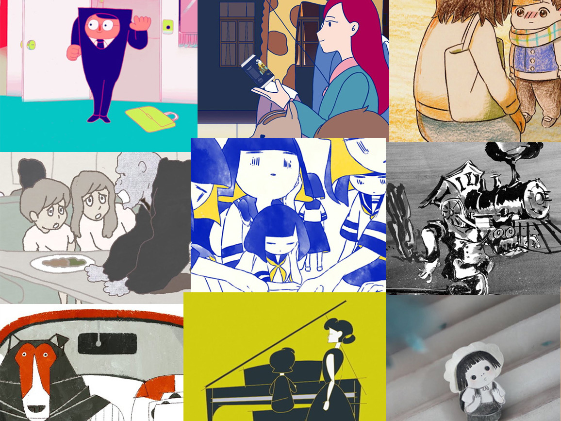 13 Grafische Kortfilms – Tama Art University